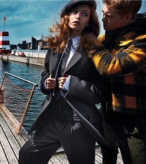 Gigi Hadid (drno_manchuria (simonsaw)) Tags: gigi hadid suit tie shirt traje camisa corbata modelo moda fashion model knot nudo hat gravata terno krawatte cravata collar cuello trajeada encorbatada chick