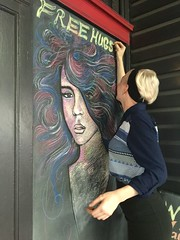 We all need a hug now and again - 13/09/16 (Visualise it) Tags: bouncehairdresser australia queensland brisbane hugs iphone 366
