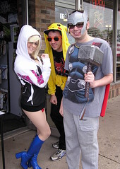 Free Comic Book Day 2016 (Vinny Gragg) Tags: costume costumes cosplay dccomics dc marvelcomics marvel marveluniverse thor themightythor godofthunder asgard asgardian avenger avengers mightyavengers prettygirls prettywoman sexywoman girl girls superheroes superhero comics comicbooks comicbook villian villians supervillian supervillians freecomicbookday freecomicbookday2016 amazingfantasybookscomics amazingfantasycomics amazingfantasybooks lockportillinois lockport illinois willcounty powergirl pikachu pokmon pokemon