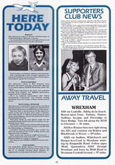 Leicester City vs Southampton - 1982 - Page 22 (The Sky Strikers) Tags: leicester city southampton fa cup road to wembley filbert street official matchday magazine 35p