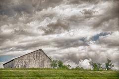 Gloomy skies (shannon4462) Tags: gloomyskies clouds barn calvertcounty maryland nikon d7000 dramatic landscape cloud outdoor sky country rural m n