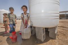 Hardship in the Desert_324 (EU Humanitarian Aid and Civil Protection) Tags: iraq fallujah anbar water nrc norwegianrefugeecouncil children desert