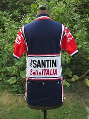 Santini  Selle Italia (akimbo71) Tags: maglia maillot jersey fahrradtrikot cycling cyclisme proteam equipe