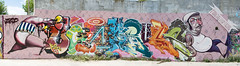 graffiti in spain (codedtestament777) Tags: citysights5 graffiti art beautiful love life design surreal text bright sign painting writing nature crazy weird fabulous environment cartoon animation outdoor street photo border photoborder illustration collection portrait face expression character