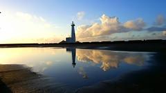 (Luclasaw) Tags: tokyo shikinejima niijima port pier summer japan sea lighthouse cluds            sunrise