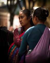 Indian Woman, Chiapas, Mx (Rod Waddington) Tags: mexico mexican chiapas san cristobal indian woman two women streetphotography