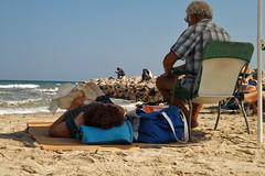 Far Worlds colour (Doxaliber) Tags: people beach lifestile immigration