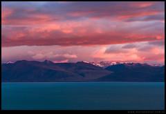 Amanecer de invierno Lago Argentino