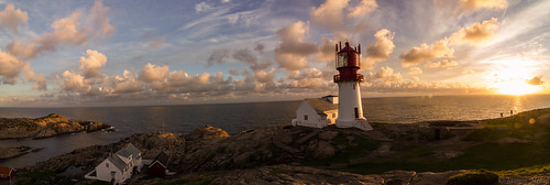 Lindesnes lighthouse panorama