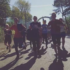 Діти біжать останній етап в Україні #бігзарадигармонії #peacerun