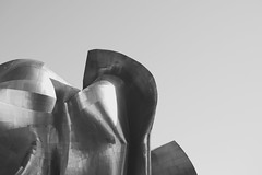emp museum, seattle, usa (T mit V) Tags: gehry bw facade architecture minimal seattle emp