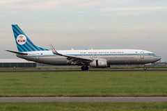 KLM / B738 / PH-BXA / EHAM (_Wouter Cooremans) Tags: eham ams amsterdam amsterdamshiphol amsterdamschiphol amsterdamschipholairport spotting spotter avgeek schiphol aviation klm b738 phbxa retro