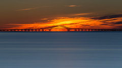 Before Sunrise (Bob90901) Tags: beforesunrise venetianshores lindenhurst longisland newyork robertmosescauseway dawn rpg90901 sunrise longexposure leebigstopper goldenhour civiltwilight 2016 september summer neutraldensity lee 09gradnd graduatedneutraldensity nd10 vle outdoor sky bridge morning gradnd canon 6d canonef70200mmf28lisiiusm canon70200f28lll greatsouthbay water bay babylon landscape cloud wow