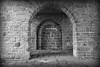 Akerhus Arches with Vignette - Black and White (groecar) Tags: akerhus norway oslo black white architecture blackandwhite