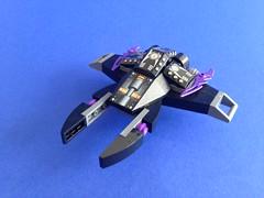Black & purple fighter (81941) Tags: 81941 lego microspacetopia