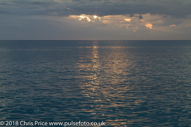 On board the Silver Moon, Barbados