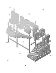 Nike experiental project wireframe (Tato Toledo) Tags: illustration digital painting typography type illustrator