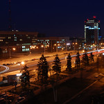 "Zaporizhia at night<a href=""http://www.flickr.com/photos/28211982@N07/8463062146/"" target=""_blank"">View on Flickr</a>"