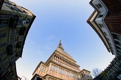 Turin 15/02/2013 (Matteo Selva) Tags: torino fisheye piemonte mole turin piedmont moleantonelliana antonelliana