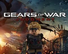 Gears of War Judgement- Damon Baird (doofldakl) Tags: 2 3 brick 1 war paint lego citadel gear armor warrior warriors gears judgement damon cog edit paints baird armors hammerburst