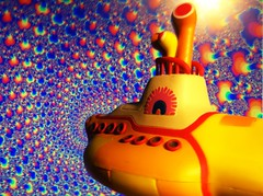 The Beatles Yellow Submarine week (chevy2who) Tags: blue yellow john paul star george harrison submarine beatles lennon ringo meanie uploaded:by=flickrmobile flickriosapp:filter=chameleon chameleonfilter