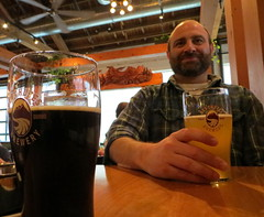 afternoon beers at deschutes (carolyn_in_oregon) Tags: beer oregon portland al allie deschutesbrewery