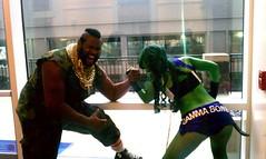 mr t 5 (ECHO ENDLESS) Tags: arm gamma cosplay echo mrt bomb wrestle endless katsucon shehulk 2013 gammabomb