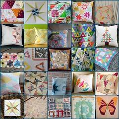 Modern She Made Triangle Mosaic - Round 3 (kristya {CatiedydDesigns~crftychik}) Tags: triangle fdsflickrtoysmodernshemade