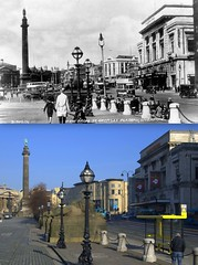 Lime Street, 1920s and 2013 (Keithjones84) Tags: thenandnow liverpool merseyside oldliverpool old oldphotos city comparison history localhistory rephotography