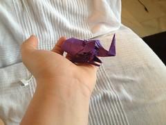 European rhinoceros beetle (Bragethefolder) Tags: paper square design origami beetle sheet rhinoceros own kraft uploaded:by=flickrmobile flickriosapp:filter=nofilter