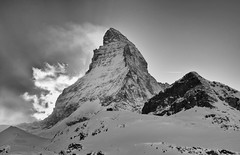 Matterhorn (Brett Ritzmann) Tags: schnee winter mountain alps berg trekking landscape switzerland landscapes nikon scenery suisse hiking landmark tags berge brett summit zermatt matterhorn 40mm alpen nikkor landschaft canton ch valais nationalgeographic montecervino montecervin ritzmann d7000 flickrunitedaward flickrtravelaward
