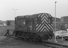 08848 at Hereford 18.05.1987 (The Cwmbran Creature.) Tags: rail class british 08