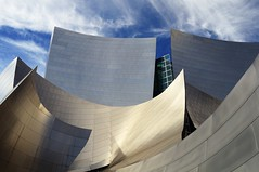 Exterior View of Walt Disney Concert Hall (Barry Wallis) Tags: california usa losangeles waltdisneyconcerthall barrywallis