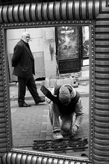 Mirror (Emre Arslaner) Tags: street city travel light portrait sky people blackandwhite bw white man black reflection art face zeiss canon vintage turkey dark square t photography 50mm mirror photo europe raw day photos live candid streetphotography istanbul squareformat 5d bandw ghetto ze planar 5014 carlzeiss markiii 1450 planart1450 zeisslenses planar5014ze planart1450ze canon5dmarkiii mygearandme instagramapp digitalinishootfilm
