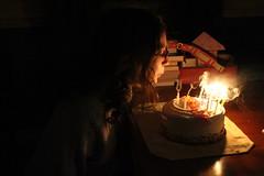 Happy Birthday! (Read2me) Tags: candle cake dark candid light shadow cye thechallengefactory pregamechallengewinner gamewinner herowinner superherochallengewinner flickrchallengewinner friendlychallenges bigmomma 15challengeswinner