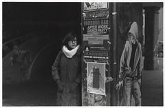 distress (M. Joshy) Tags: street blackandwhite bw white black analog 50mm report om10 apx100 agfa rodinal joshy olympusom10 mjoshy