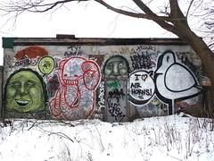 Toronto 2013 (bella.m) Tags: streetart toronto ontario canada elephant bird art apt graffiti spray urbanart aerosol bombing listen nektar