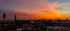 Richmond sunset one shot Lightroom (4myrrh1) Tags: city sunset sun color clouds evening virginia cityscape colorfull richmond va setting
