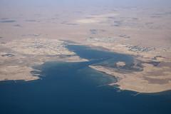 Décollage Doha - Al Khor (Maillekeule) Tags: windows sky plane al aircraft ciel airways qatar hublot khor