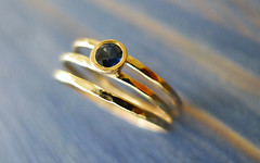 Across The Universe. Asymmetrical Engagement Sapphire Ring. Hammered 14K Gold And Conflict Free Sapphire. Fine Jewelry. Made to Order. (Noa Sharon Designs) Tags: blue wedding gold engagement hammered designer sharon jewelry engagementring ring handcrafted weddings thin noa sapphire jeweler artjewelry jewelrydesigner israelijewelry noasharon noasharondesigns