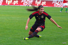 Nayemi Rangel (flight69) Tags: woman sports female mexico football pentax action soccer algarve brunette bruna futebol dfa morena feminino   algarvecup flight69  nayemirangel