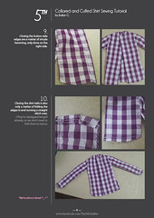 Collared and Cuffed Shirt Tutorial p8 (Ylden Frei) Tags: sewing bjd tutorial