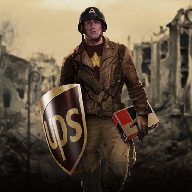 有廣告代言的超級英雄們