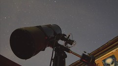 Knockin Telescope with AG12 Timelapse_HD (peter shah) Tags: moon way ic timelapse ngc astro observatory telescope galaxy nebula astrophotography orion astronomy imaging nightsky messier comet milky optics starlight xpress deepsky ag12