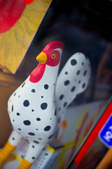 Dalmatian Rooster (stuckinseoul) Tags: world street travel beautiful lens geotagged asian photography photo cool interesting asia forsale image quality background gorgeous stock photojournalism korea canonef50mmf18 korean photograph seoul stunning fabulous southkorea insadong stockphoto photojournalist   corea  highquality canoneos6d stuckinseoul