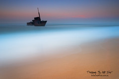 Even ships have a heaven (Kiall Frost) Tags: ocean longexposure sunrise newcastle sand nikon surf ship australia le nsw sundance wreck sygna stocktonbeach kiallfrost d800e