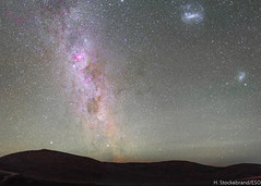 The CarinaSagittarius Arm of MilkyWay (Hernn Stockebrand) Tags: canon noche carina cielo estrellas smc eta eso lmc magallanic magallanes milkyway estrellado paranal contaminacionluminica carinae vialactea 60da
