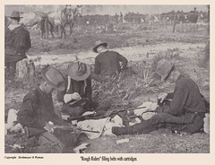 Rough Riders (Fleur-de-louis) Tags: new our horses panorama copyright horse soldier book photo published gun photographer arms pages rifle picture rifles scan photograph f page scanned soldiers guns uniforms rough possessions filling wyman neely riders tennyson 1898 strohmeyer neelys of