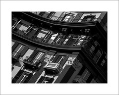 Seaview (Mr sAg) Tags: windows blackandwhite italy holiday building architecture mono interestingness interesting europe italia architecturaldetail balcony explore napoli naples sag seaview vaction frontage mergellina simonharrison explored mrsag simonharrison