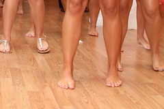 IMG_5486 (heellover91) Tags: woman sexy feet girl foot shoes dancing legs sandals bare thong barefoot